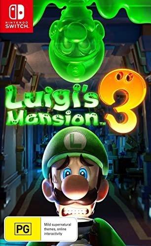 《路易鬼屋3》 Nintendo Switch 实体版