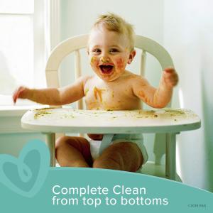 $5.54(原价$8.49)Pampers Baby Wipes 宝宝湿纸巾无香型 216片