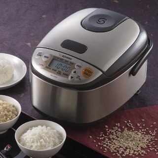 $130.43Zojirushi NS-LHC05XT Micom Rice Cooker & Warmer, Stainless Dark Brown