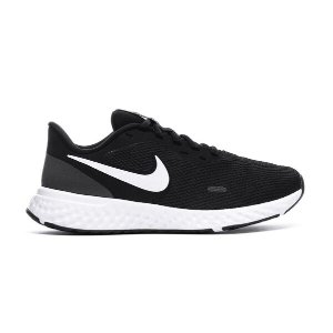 NikeWomen's Revolution 5 Running Shoe - Wide Black/White/Anthracite 8.5
