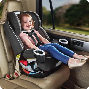 $299.97包邮(原价$343.15)Graco 4Ever四合一儿童座椅 经过严格安全测试 最大承重54kg
