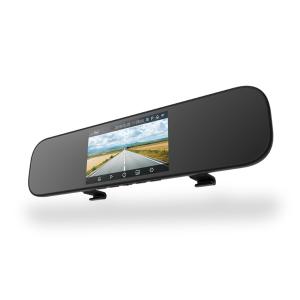 $79.71 带语音控制小米 米家后视镜行车记录仪 5英寸大屏 1080p前摄