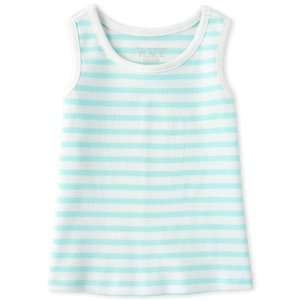 The Children's PlaceBaby And Toddler Girls Sleeveless Striped Tank Top
