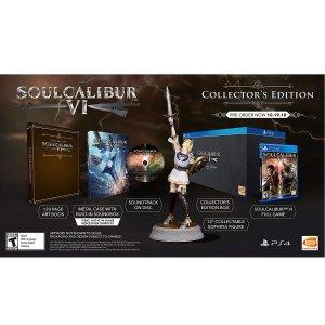 $49.97《灵魂能力6 收藏版》PS4 实体版 ,送索菲蒂亚手办