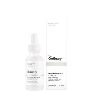 The ordinaryNiacinamide 10% + Zinc 1%