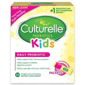 $17.59+Free ShippingCulturelle Kids Packets Daily Probiotic Formula, One Per Day Dietary Supplement @ Amazon