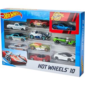 $8.97(原价$11.47)Hot Wheels 玩具小汽车 10件套