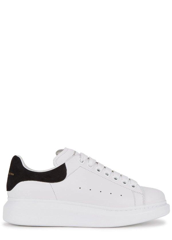 经典黑尾小白鞋