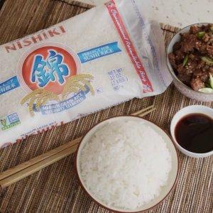 $10.99(原价$15) 7.3折收特选米Nishiki 日本锦米 2.27kg装 蓬松粘糯的味蕾享受 现货上架