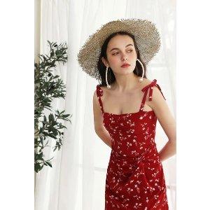 Petite StudioLorraine碎花裙 - Red Floral