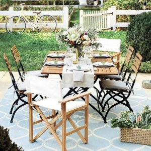 低至8折  $299起Ballard Designs 多款庭院家具优惠热卖 打造诗意后花园