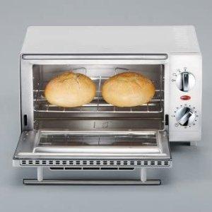折后仅€35.99Prime Day 狂欢价:SEVERIN TO 2054 mini白色小烤箱 9升容积 一人食绝佳!