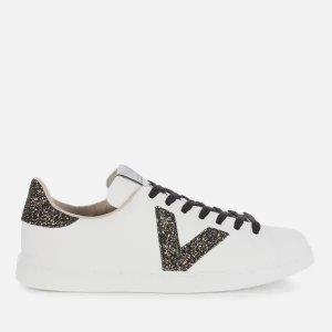 Victoria细闪小白鞋