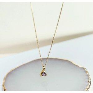 8.5折码:BDAYMOON15紫水晶项链