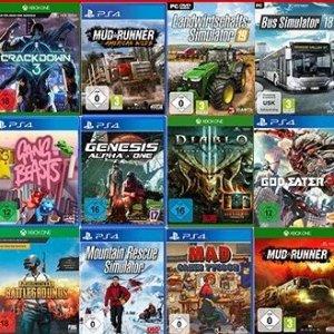 需用码 加到购物车后自动减价PS4 Switch XBOX PC 游戏3个任选€49