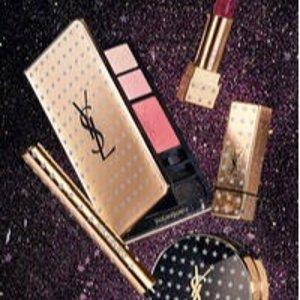 £29起收 二代限量星辰YSL 圣诞限量彩妆发售 镶满钻石的小星星再度来袭