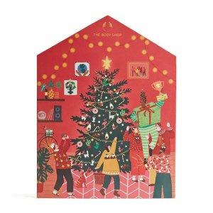 The Body Shop价值£98混合版圣诞日历