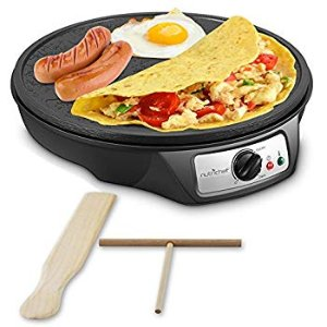 Amazon.com: Crepe Maker Machine Pancake Griddle - Nonstick