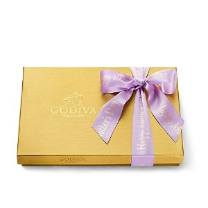 GodivaHappy Mother's Day Assorted Chocolate Gold Gift Box, Pink Ribbon, 36 pc. | GODIVA
