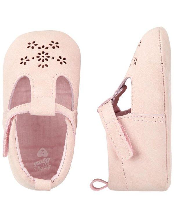 小花婴儿软底鞋