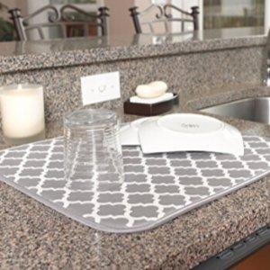 $4.72 包邮S&T 实用厨房沥水垫16X18英寸