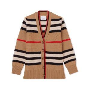 Burberry最大有12Y!经典vintage针织外套