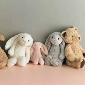 低至€17 收获好心情!Jellycat 软萌网红毛绒玩具好价 邦尼兔、小云朵、小龙虾都在线