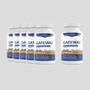 120粒x6瓶Gateway海豹油omega-3