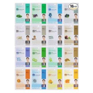 $9.99Dermal Korea Collagen Essence Full Face Facial Mask Sheet 16 value pack
