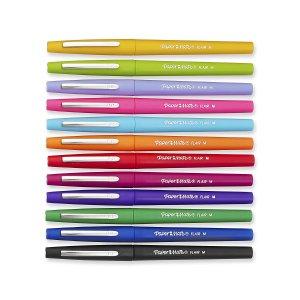 $6.92(原价$19.99)Paper Mate 彩色水笔套装12支 .07mm
