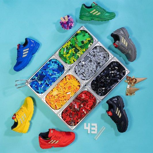ZX 8000 x Lego 合作款运动鞋发售ZX 8000 x Lego 合作款运动鞋发售