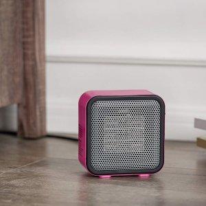 $19.7 (原价$24.49)AmazonBasics 500瓦 便携式迷你陶瓷电取暖器