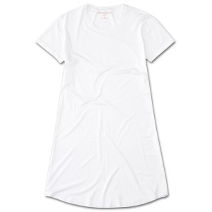 Derek Rose女装奢华弹力睡眠T恤
