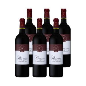 超值价¥369(原价¥1008)拉菲 珍藏波尔多酒葡萄酒整箱6支装