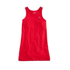 Vineyard VinesGirls Simple Pocket Tank Dress
