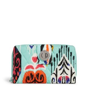Vera BradleyFactory Style Turnlock Wallet