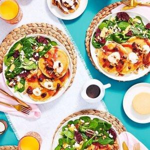 首单5折+6个月每单9折HelloFresh 精选生鲜食材+菜谱送上门 超靠谱的营养美味