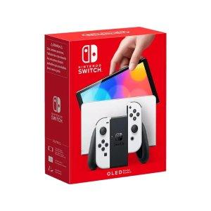 新品白色 爆款预测!!NINTENDO Switch (OLED-Modell)