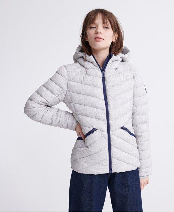 绗缝夹克外套