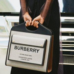 无门槛8.5折+包所有税费闪购:Burberry 新款热卖 $195到手价收新款logo卡包