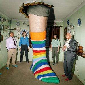 7.5折+免运费!€14收礼盒装Happy Socks 小黑五热促 收趣味搞怪萌袜 穿搭点睛之笔