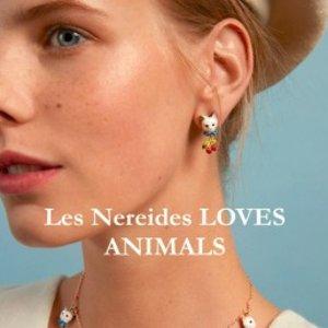 低至4.5折  舒淇、林志玲钟爱品牌Les Nereides Paris 动物项链系列热卖