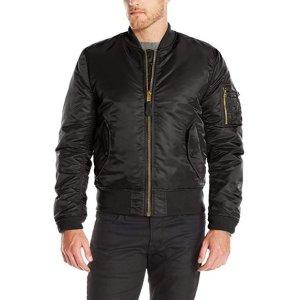 现价$73.99(原价$150)Alpha Industries 男士夹克外套热卖