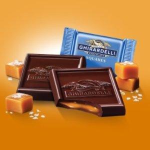 8折Ghirardelli 焦糖海盐巧克力热卖
