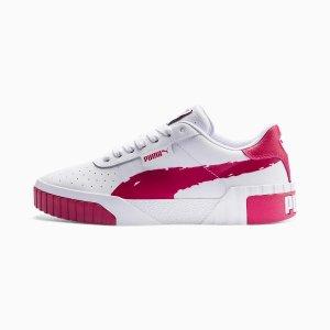 PumaCali 浆子红运动鞋