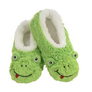 $24.76起 多款可选Snoozie 毛绒青蛙拖鞋 呱瓜陪你过七夕 一只快乐的小跳蛙