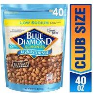 Blue Diamond Almonds 美国大杏仁低盐健康款