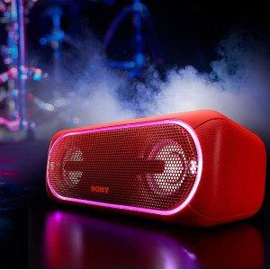 Sony SRS-XB40 便携式无线音响 红色 9折特价