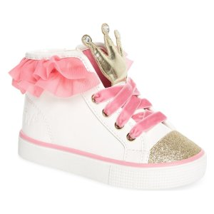 af54b26ab7 Nordstrom offers up to 40% off Kids Shoes Sale. Free shipping. Ashlyn Crown  High Top Sneaker