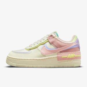 Nike随时断货!Air Force 1 Shadow 奶油色